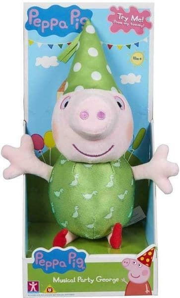 Peppa Pig - MUSICAL PARTY GEORGE - With Music